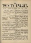 Trinity Tablet, October 7, 1882