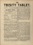 Trinity Tablet, October 28, 1882