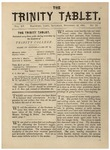 Trinity Tablet, November 18, 1882