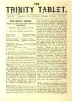 Trinity Tablet, December 16, 1882