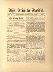 Trinity Tablet, April 17, 1886
