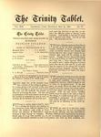 Trinity Tablet, May 29, 1886