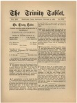 Trinity Tablet, October 2, 1886