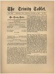 Trinity Tablet, October 23, 1886