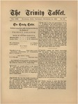 Trinity Tablet, November 23, 1886