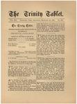 Trinity Tablet, December 18, 1886