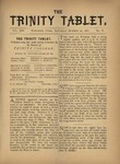 Trinity Tablet, October 29, 1881