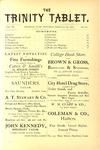 Trinity Tablet, February 23, 1878
