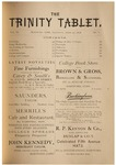 Trinity Tablet, April 27, 1878