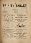 Trinity Tablet, October 26, 1878