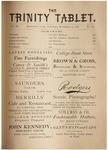 Trinity Tablet, December 14, 1878