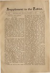 Supplement to the Trinity Tablet, December 14, 1878