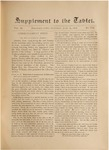 Supplement to the Trinity Tablet, June 29, 1878