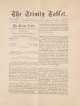 Trinity Tablet, February 26, 1887