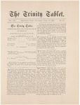 Trinity Tablet, April 16, 1887