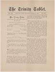 Trinity Tablet, October 8, 1887