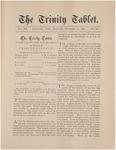 Trinity Tablet, December 10, 1887