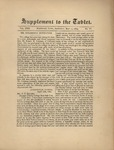 Supplement to the Trinity Tablet, May 11, 1889