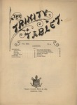Trinity Tablet, March 16, 1889