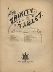 Trinity Tablet, May 11, 1889