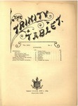 Trinity Tablet, June 1, 1889