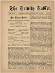 Trinity Tablet, July 2, 1884