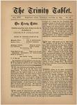 Trinity Tablet, October 25, 1884