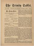 Trinity Tablet, November 22, 1884