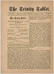 Trinity Tablet, December 13, 1884