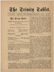 Trinity Tablet, December 20, 1884