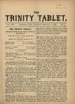 Trinity Tablet, February 3, 1883