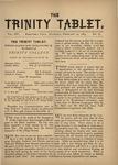 Trinity Tablet, February 24, 1883