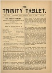 Trinity Tablet, March 17, 1883