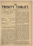 Trinity Tablet, April 7, 1883