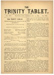 Trinity Tablet, October 13, 1883