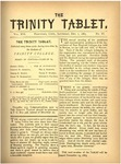 Trinity Tablet, November 10, 1883