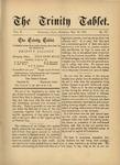 Trinity Tablet, May 19, 1877