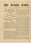 Trinity Tablet, June 30, 1877