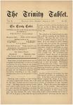 Trinity Tablet, October 6, 1877