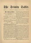Trinity Tablet, October 27, 1877
