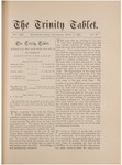 Trinity Tablet, April 7, 1888