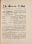 Trinity Tablet, May 5, 1888