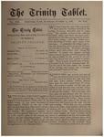 Trinity Tablet, October 13, 1888