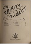 Trinity Tablet, October 27, 1888