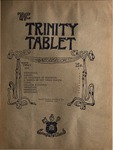 Trinity Tablet, October 3, 1891