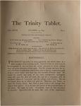 Trinity Tablet, October 13, 1893