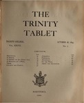Trinity Tablet, October 28, 1893 Advertisements