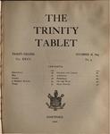 Trinity Tablet, November 18, 1893 Advertisements