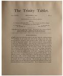 Trinity Tablet, December 6, 1893