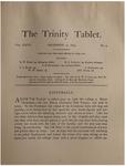 Trinity Tablet, December 20, 1893